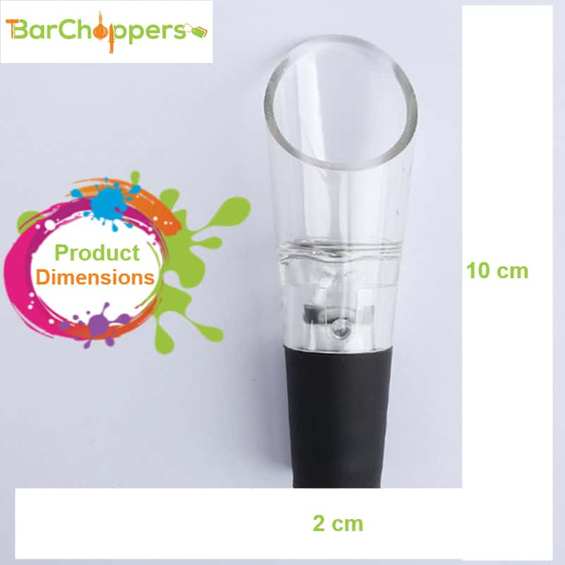 Acrylic Red Wine Aerator Aerating Pourer Wine Bottle Pour Spout Stopper