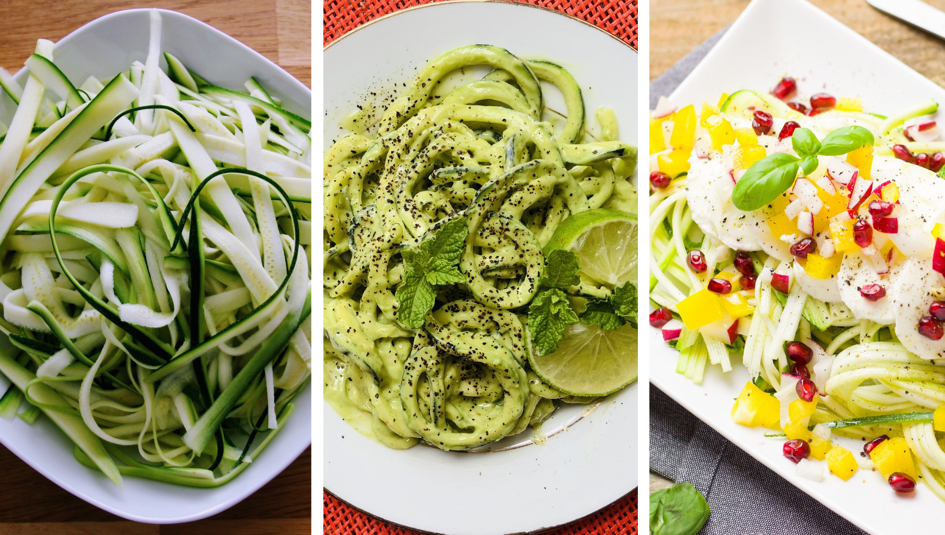 Zoodles Healthier Recipes